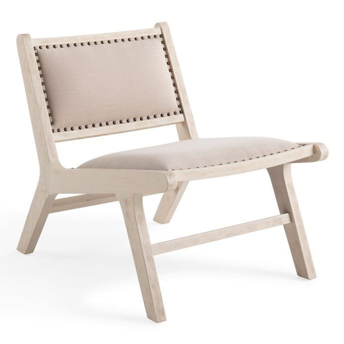 efab8dfb525c Bee   Willow Home Wood Frame Accent Chair in Natural