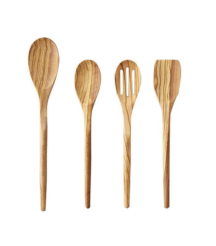 Williams-Sonoma Olivewood Spoons