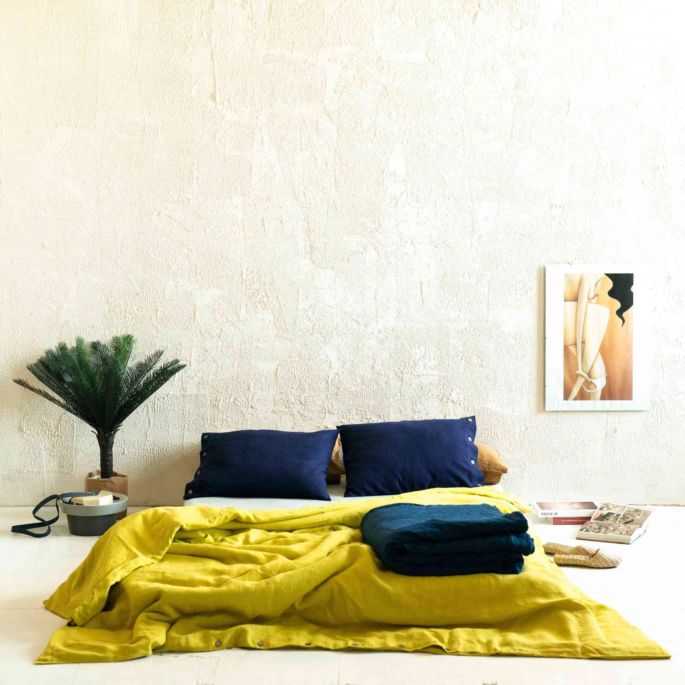 chartreuse duvet cover