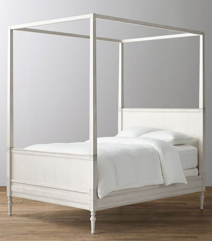 Restoration Hardware Baby & Child Bellina Canopy Bed