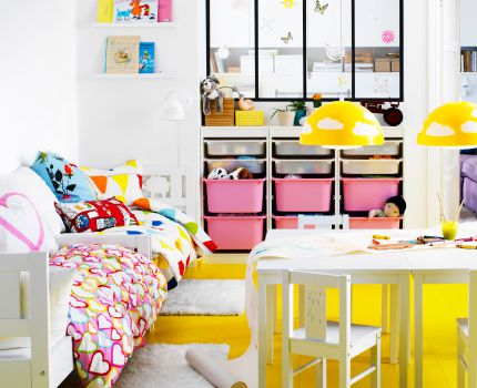 IKEA is a great resource for children's furniture