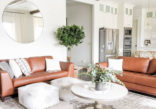 Bright and airy living room.