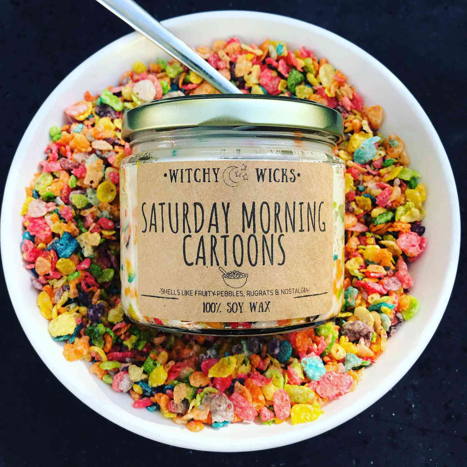 Witchy Wicks Candy Co Saturday Morning Cartoons