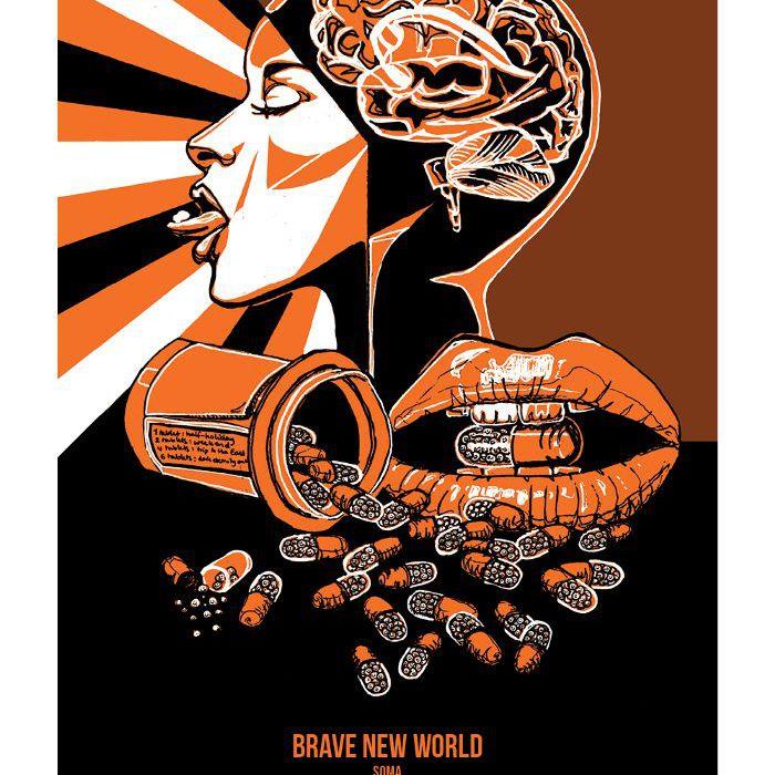 """""""Brave New World"""" de Aldous Huxley"""