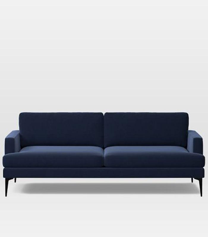 Found: The Best 19 Blue Velvet Sofas Our Editors Love