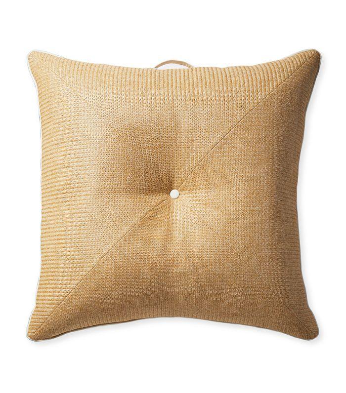 Harbour Island Floor Pillow - Raffia