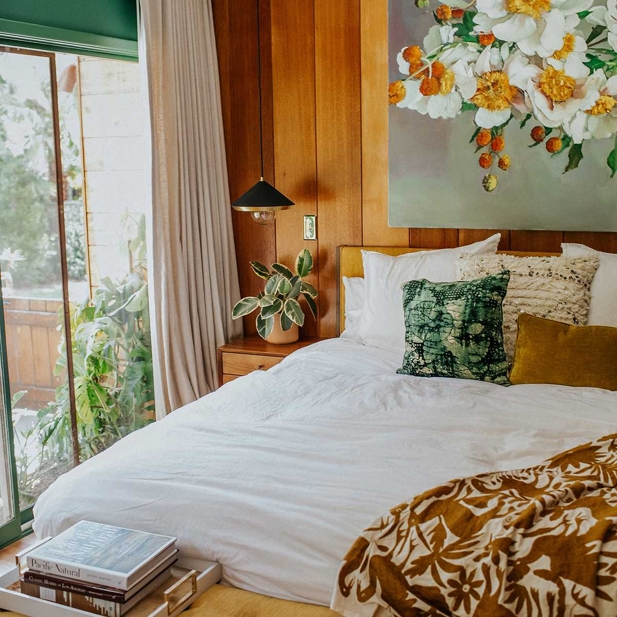 Claire Thomas: diseño del dormitorio principal