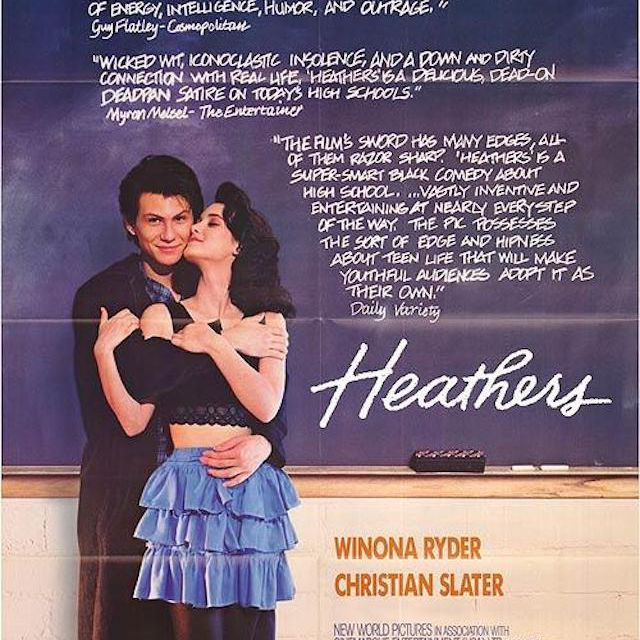 Heathers poster.