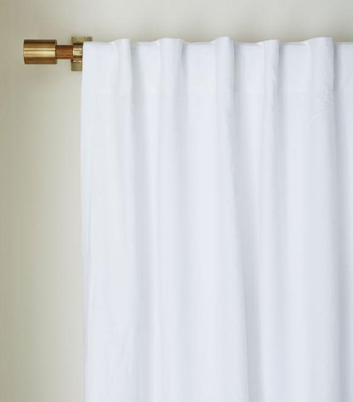 West Elm Belgian Linen Curtain