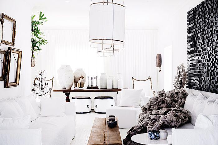 narrow living room couch arrangement