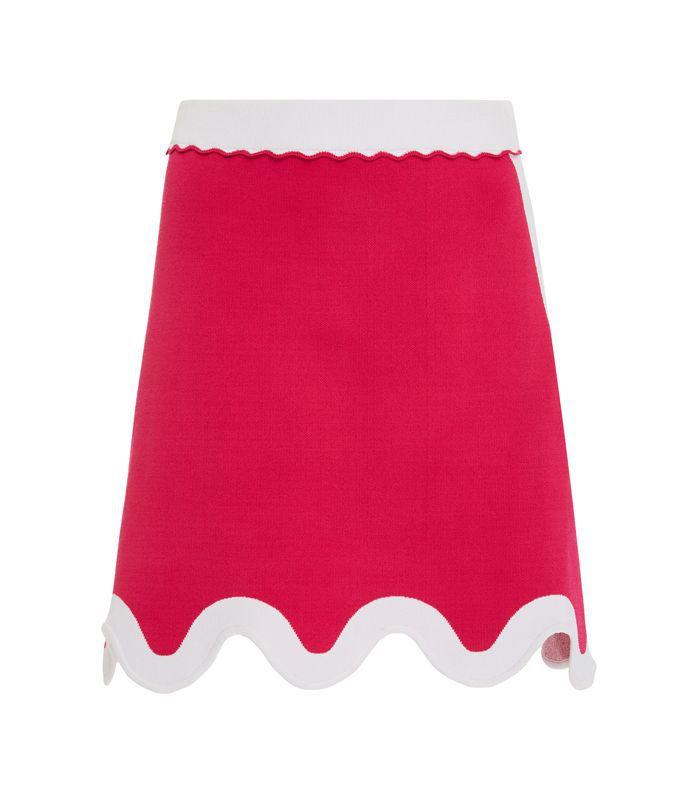 JasmineCurved Mini Skirt
