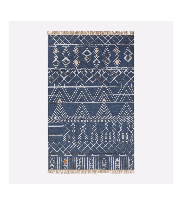 West Elm Summit Indoor/Outdoor Rug, Midnight