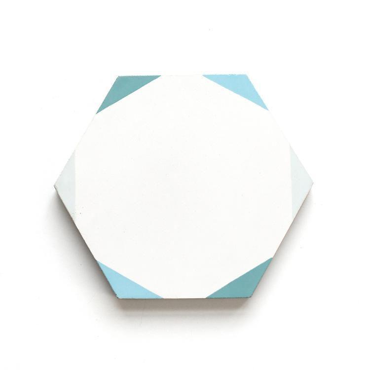 Pinwheel—Bathroom Floor Tile Ideas