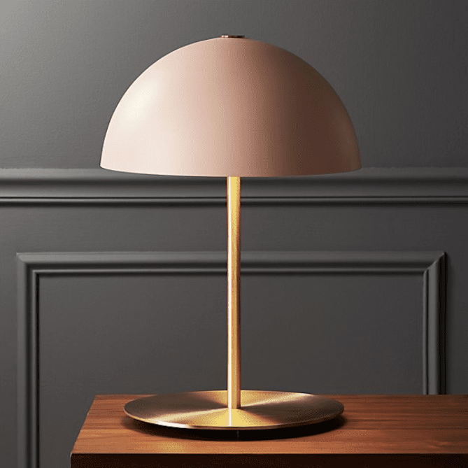 CB2 Hanna Pink Table Lamp