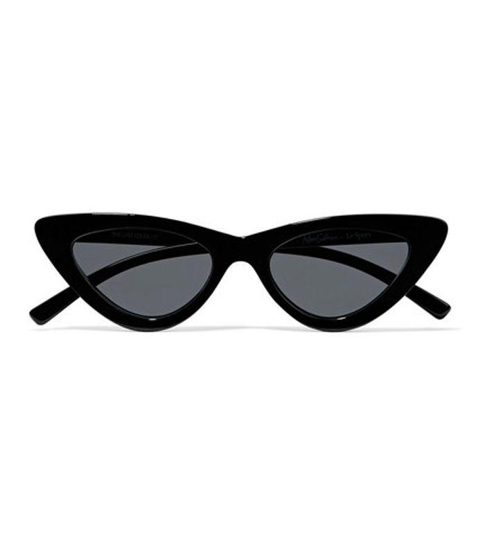 Adam Selman The Last Lolita Cat-Eye Acetate Sunglasses
