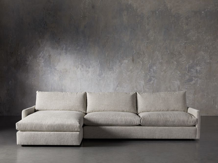 Arhaus Kipton Two Piece Sectional with Chaise