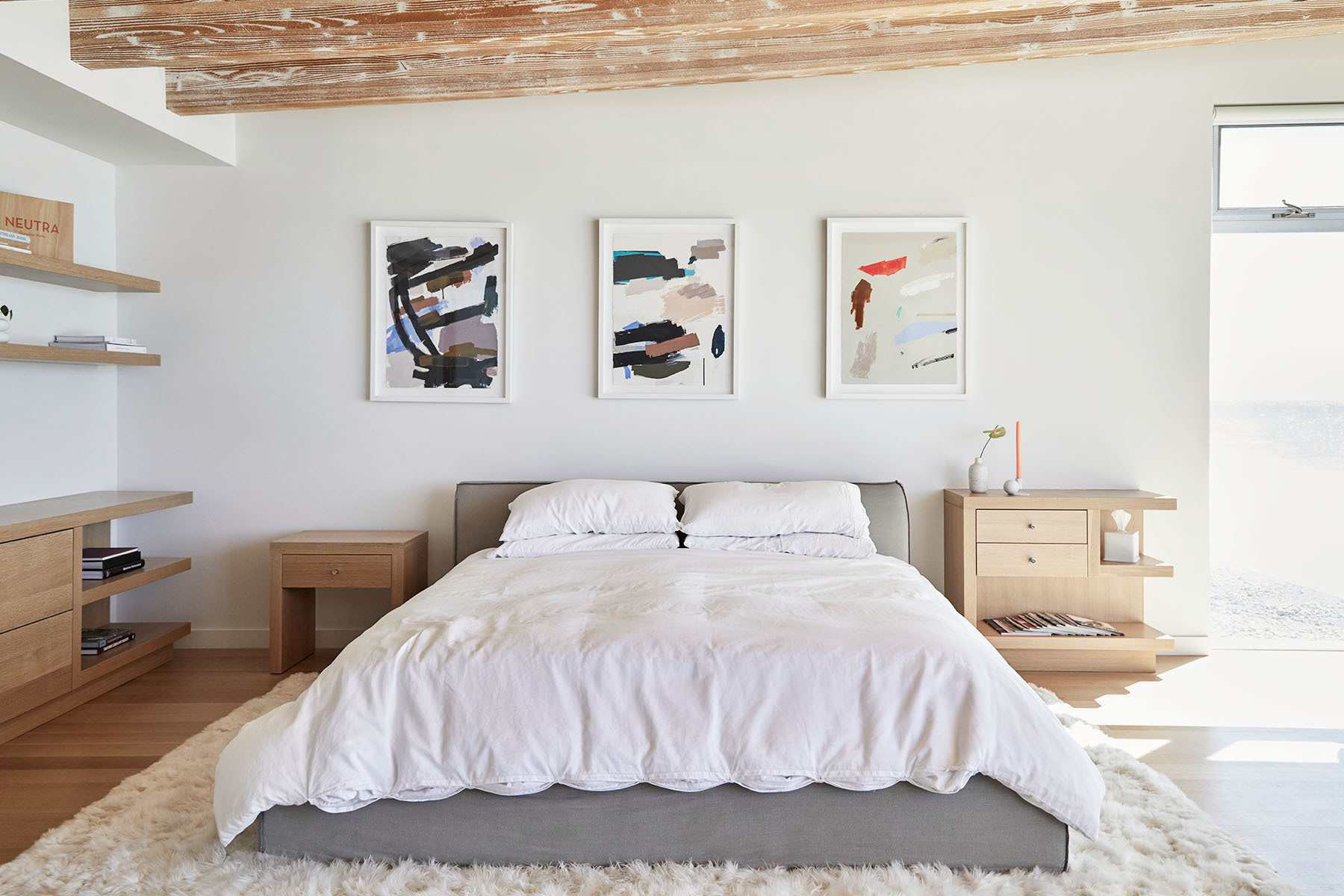 Lunya Founder's Bedroom