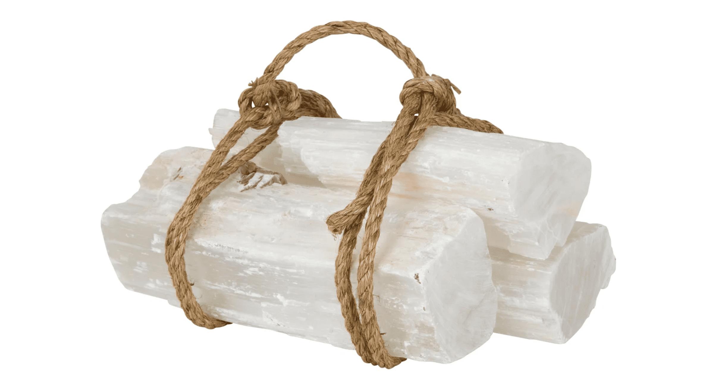 selenite logs