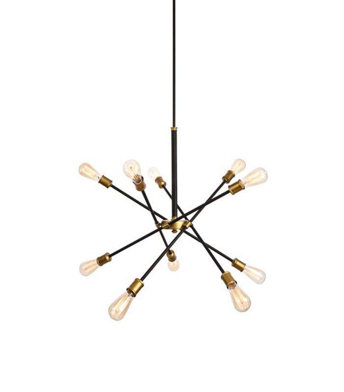 Langley Street Caden 10-Light Sputnik Chandelier