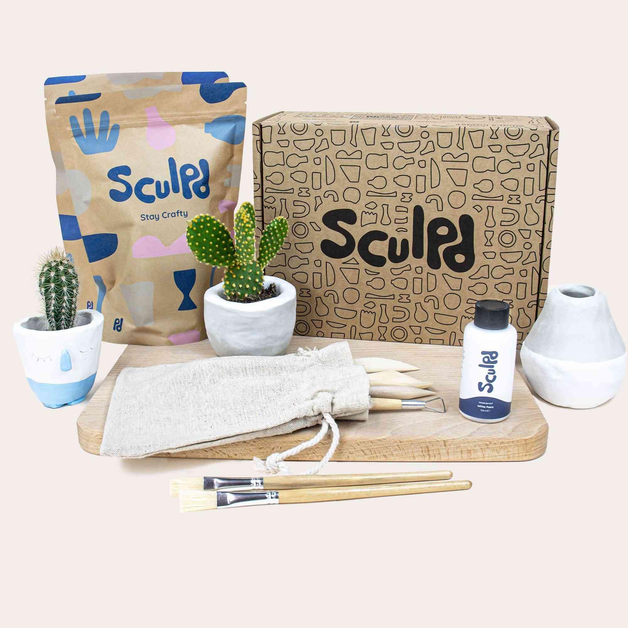 Sculpd Pottery Kit