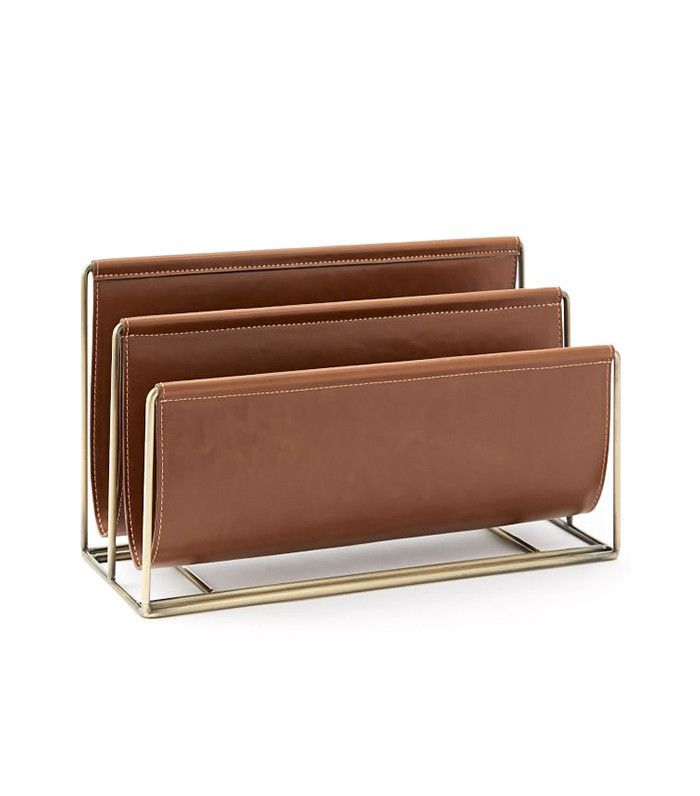West Elm Faux Leather Document Holder