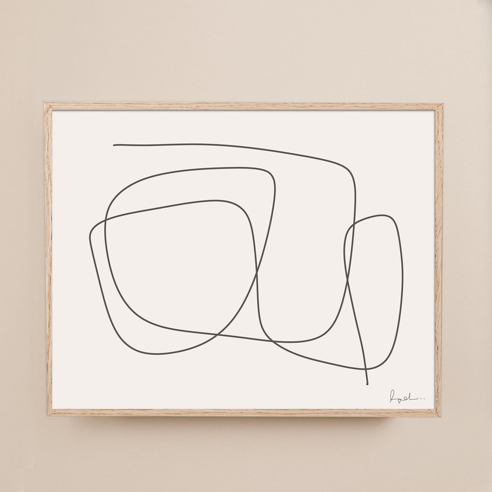 Minimalist Line Art
