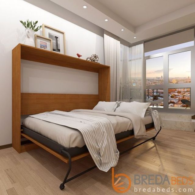 Breda Beds Horizontal Urban Murphy Bed