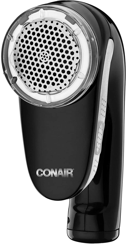 Conair Rechargeable Fabric Defuzzer/Shaver, Black