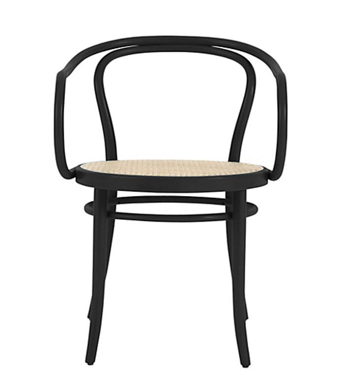 Era Round Armchair with Cane Seat