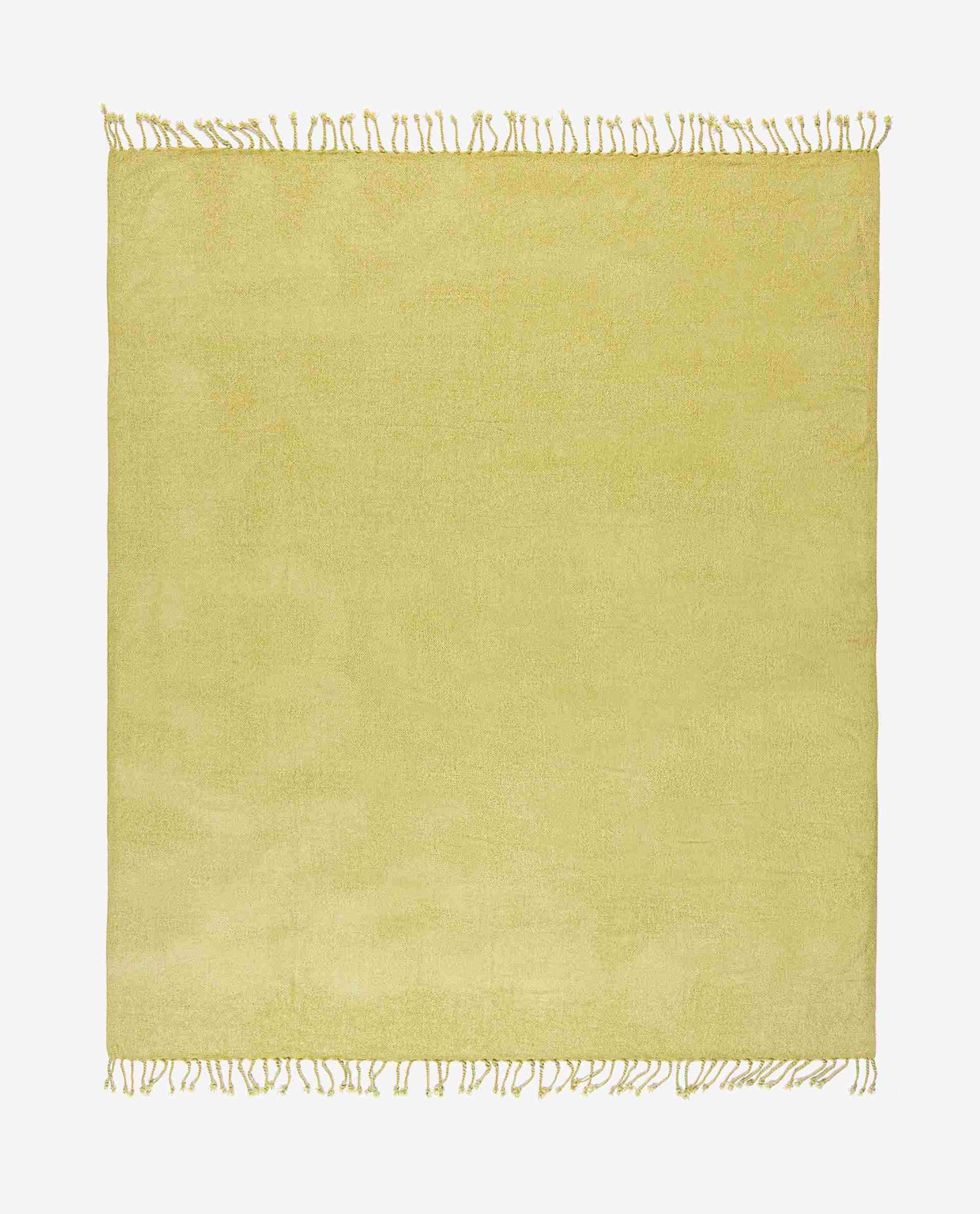 Plain Weave Chenille Blanket