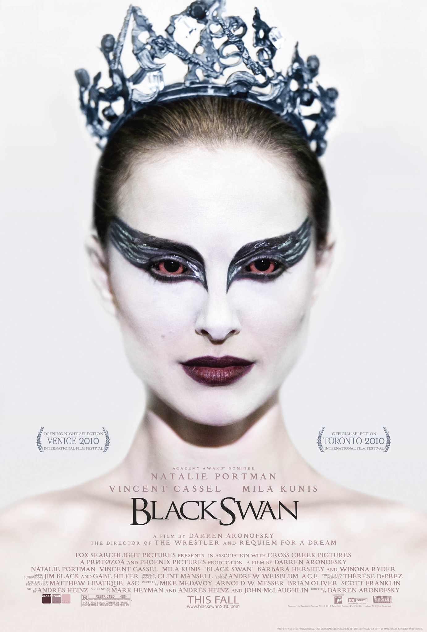 The psychological thriller movie, Black Swan.