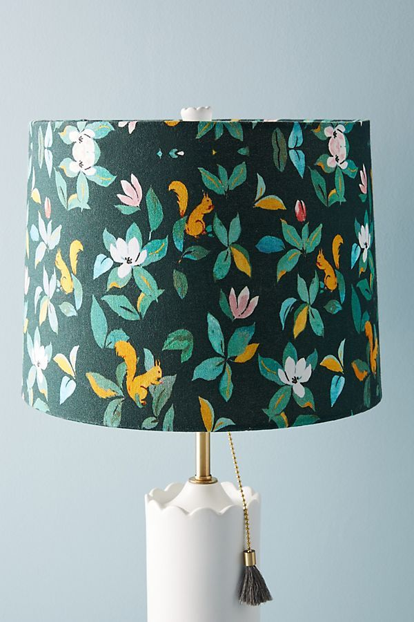 Paule Marrot Squirrel Lamp Shade