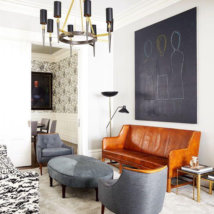 San Francisco Townhouse — Living Room