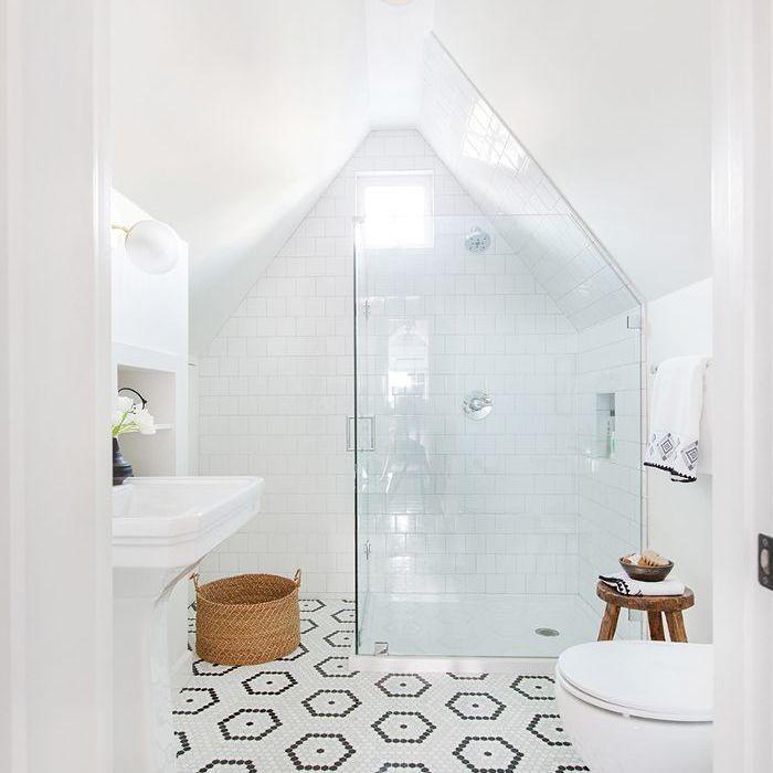 baño tipo loft