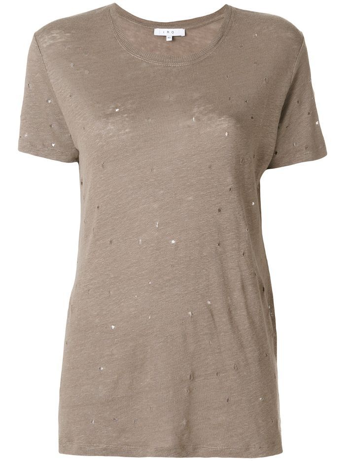 Iro Distressed Knitted T-shirt