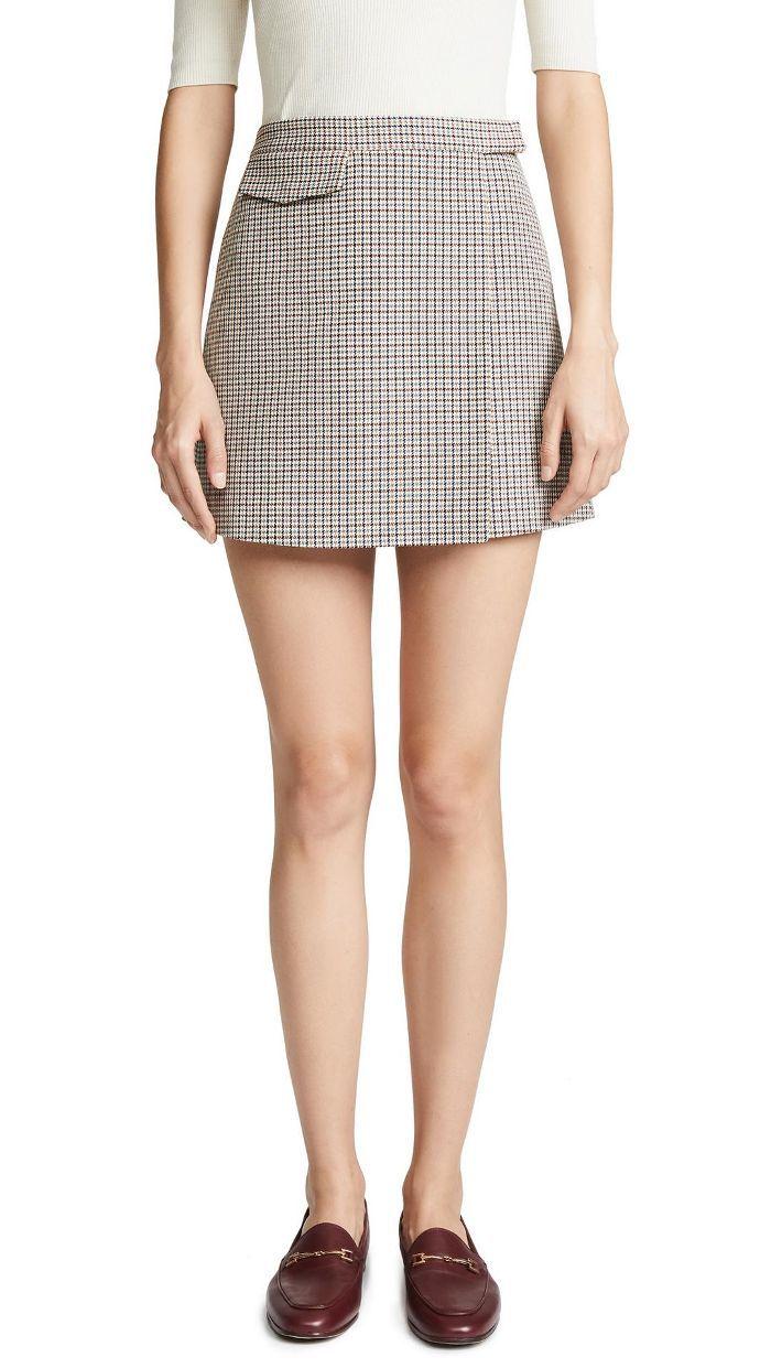 Snap Miniskirt