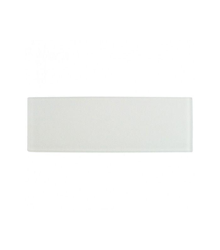 Tile Bar Loft Super White Frosted Glass Tile