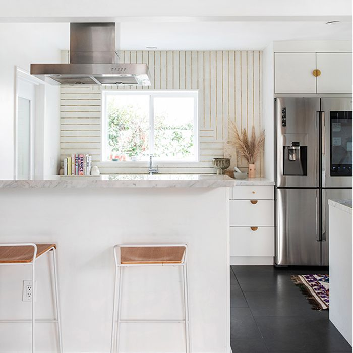 Spring trends—white Kitchen