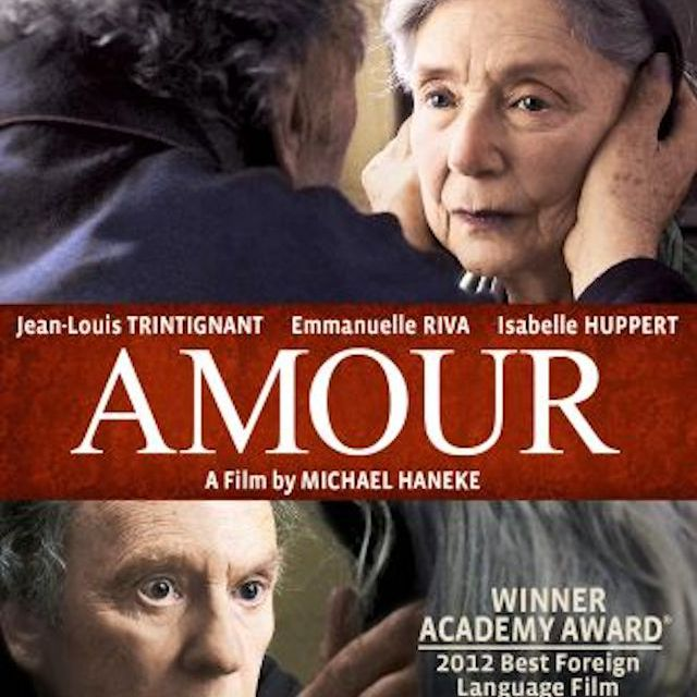 Amour (2012) poster.