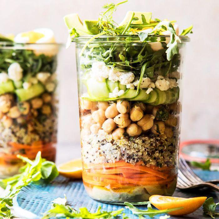 Ensalada de siete capas recetas veganas crudas