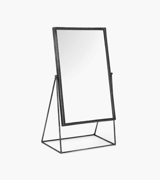 Zara Home Metal Stand-Up Mirror
