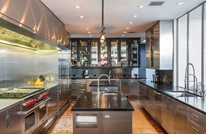 Ellen Degeneres Beverly Hills Home   Kitchen