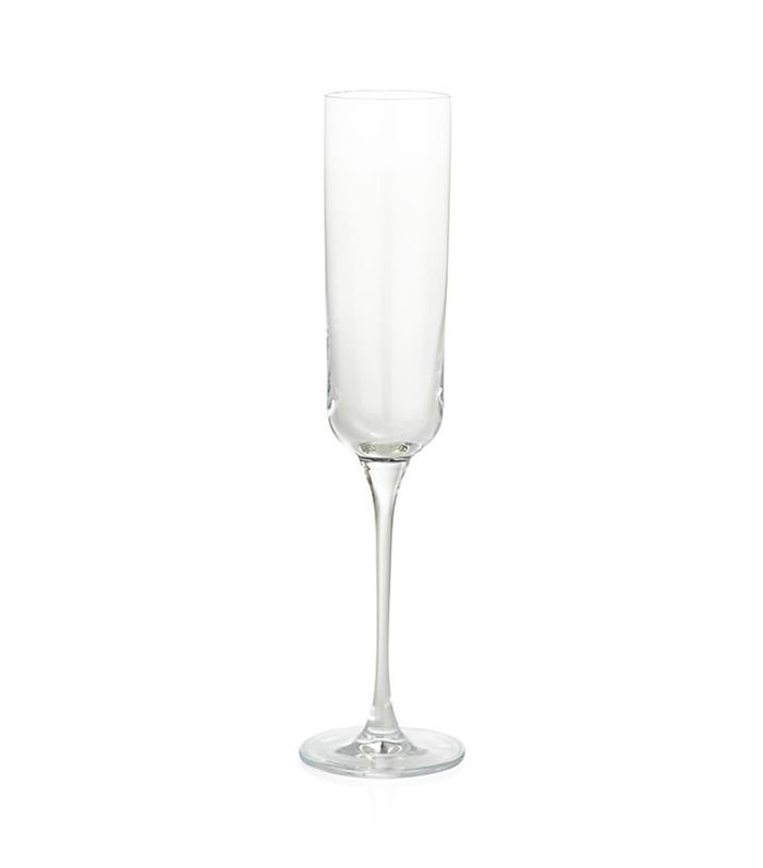 Crescent Champagne Glass