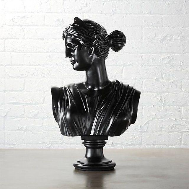 CB2 Judy Bust Statue