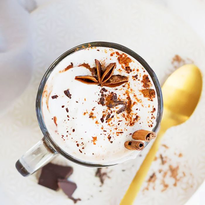 Crockpot Halloween Recipes — Slow Cooker Hot Chocolate