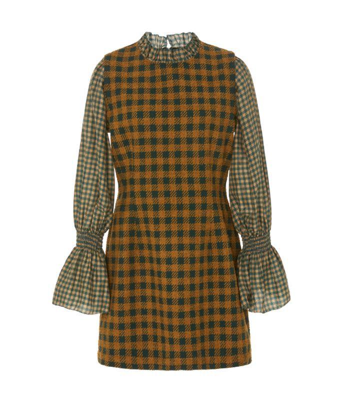 Ethno Pop Combo Dress