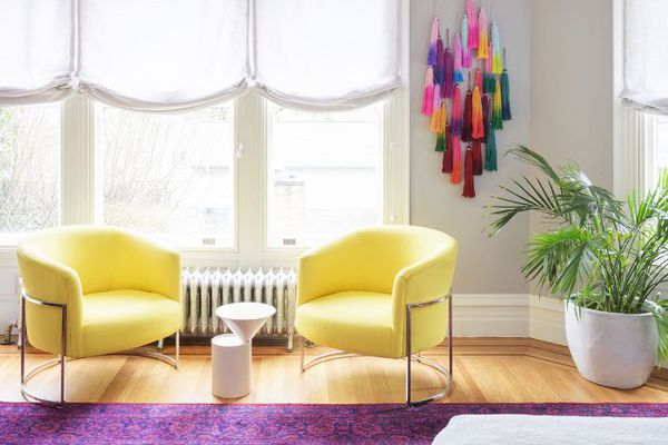 This Colorful Victorian Portland Home Is A Master Cl In Mixing Old And New