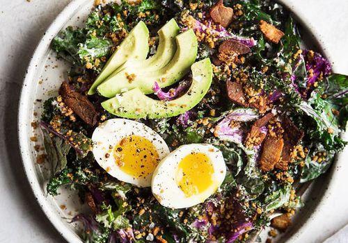 salad high in folic acid