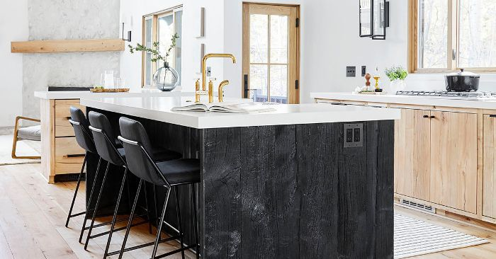 Tour The Chic Kitchen Of Emily Henderson S Mountain Home