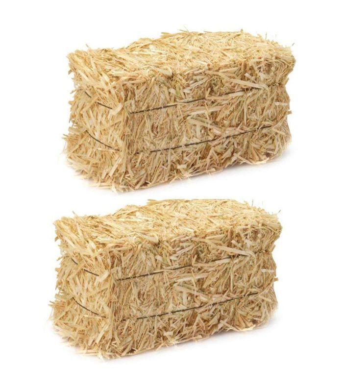 LJIF Straw Bales Amazon Thanksgiving Decor